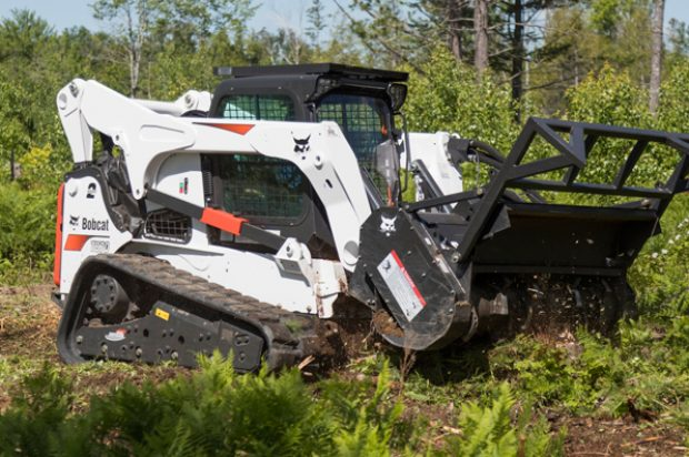Bobcat's New 70-Inch Forestry Cutter Attachment Is Sized for Greater Production