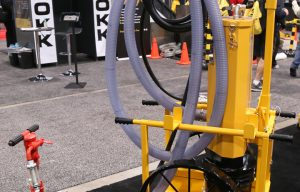 E-Z Drill Releases Dust Collection Cart  for Handheld Drills