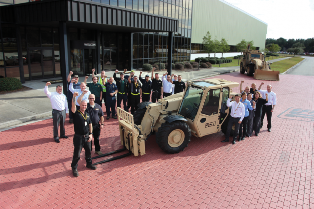 U.S. Army Places $142-Million New Year's Order for JCB Machines
