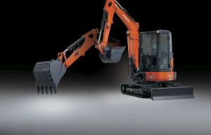 Kubota Introduces Cool New KX033-4 Compact Excavator
