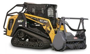 ASV RT-120 Forestry Compact Track Loader