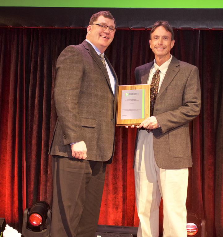 Subsite Top Volume Dealer Awarded at Annual Dealer Conferences