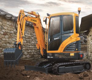 Hyundai R30Z-9AK Compact Excavator