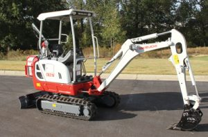 Takeuchi TB216H Hybrid Excavator