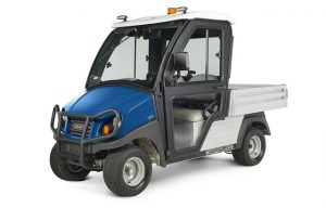 Club Car Introduces New, Upgraded Cab for Two-wheel Drive Carryall Utility Vehicles