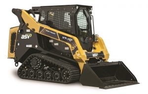 New from ASV at #CONEXPO: Mid-frame, vertical lift compact track loader