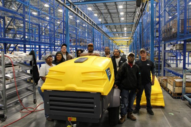 Atlas Copco rolls out first product at new Rock Hill plant