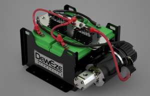 DewEze Launches BEH Powered System, Green Technology for No-Idling Truck Regs