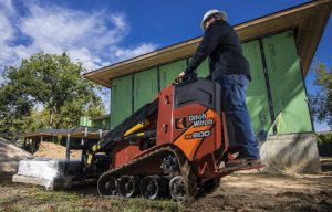 Check out Ditch Witch's new mini skid steer #CONEXPO