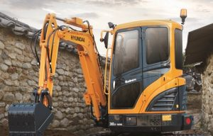 Hyundai at #CONEXPO: 3-ton-class model excavator introduced to 9A series