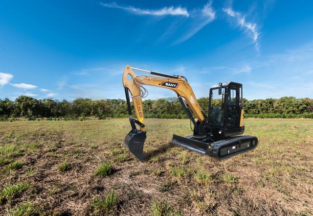 SANY compact excavator