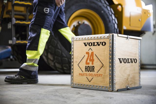 volvo 24 hour parts guarantee
