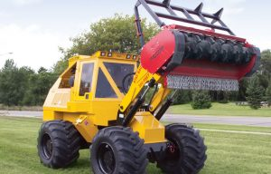 Check Out This Geo-Boy Brush Cutter Tractor for Expanded Applications