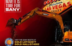 Sany to Unveil New Machines Designed for North America at CONEXPO