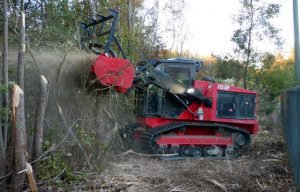 Fecon Adds FTX128R Rubber Tracked Mulcher to FTX Tractor Line