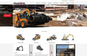 Mustang Compact Equipment introduces a new website for North America (check it out!)