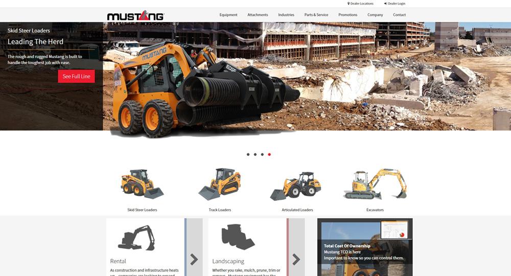 Mustang MFG Homepage