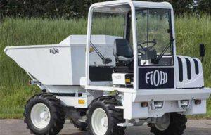 Dominion Equipment introduces Fiori articulated compact dumper to U. S. market