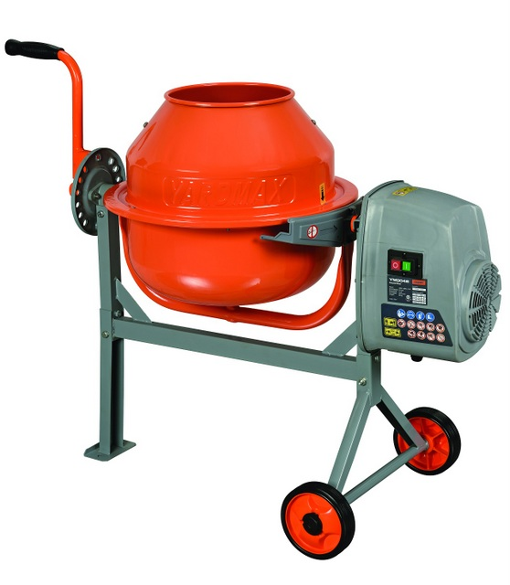 yardmax Concrete Mixer-1.6 cu. ft.