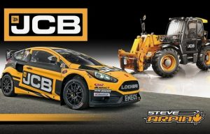 JCB Partners with Loenbro Motorsports for Global Rallycross Action