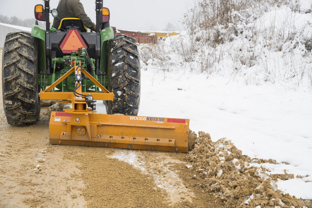 New Rear Blades By Woods Offer Extra Hydraulic Abilities