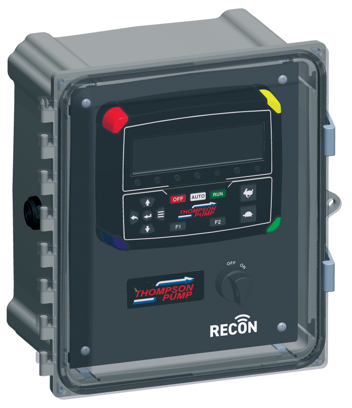 Thompson Pump Introduces New Remote-Operated RECON Control Panel