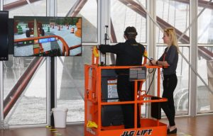 JLG VR Training Simulator Featured Today at 2017 Unity Vision Summit in LA