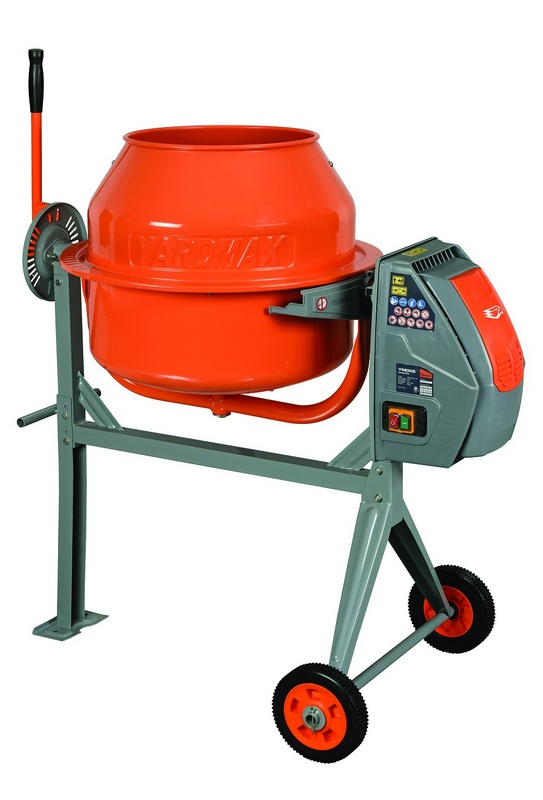 Yardmax YM0115 - Concrete Mixer - 4.5 cu ft HERO