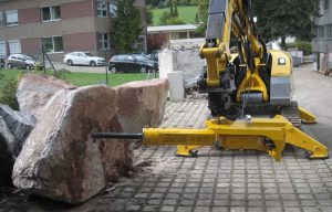 Brokk Brings More Power and Safety, Less Noise  with Darda Rock Splitter