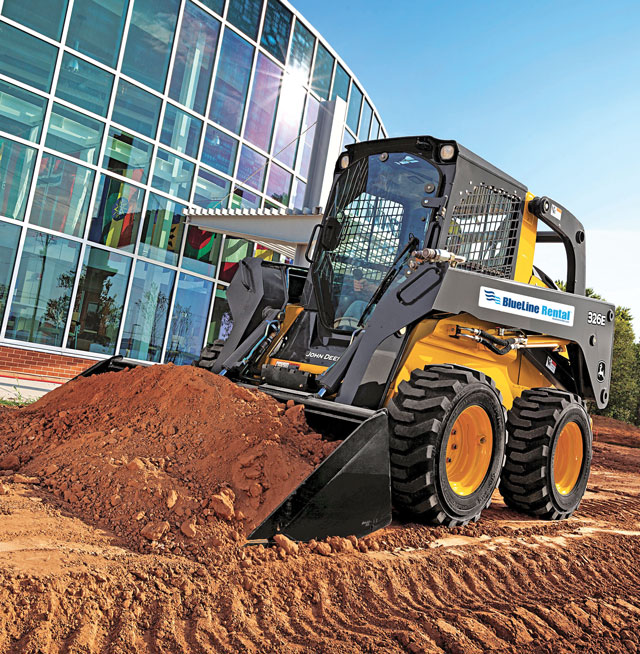 BlueLine Rental Skid Steer