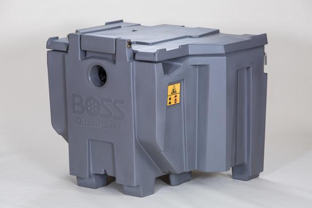 boss snow plow cube