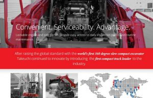 Takeuchi Introduces a Cool New Global Website (Check It Out)