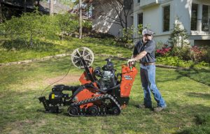 Ditch Witch VP30 Vibratory Plow Minimizes Disruption on Residential, Utility-Installation Jobs