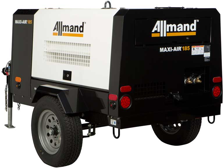 Maxi-Air compressors incorporate features for easy starting and quiet use.