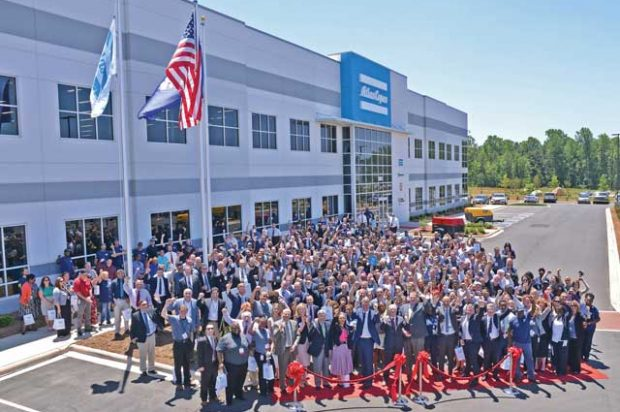 We Visit Rock Hill, S.C., for the Grand Opening of Atlas Copco's New American Headquarters