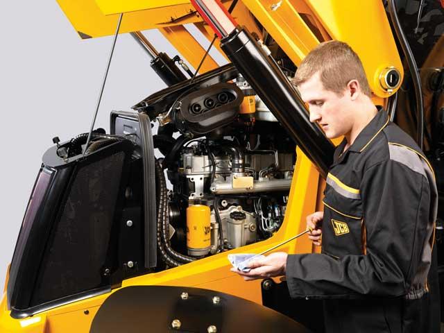 Maintaining equipment