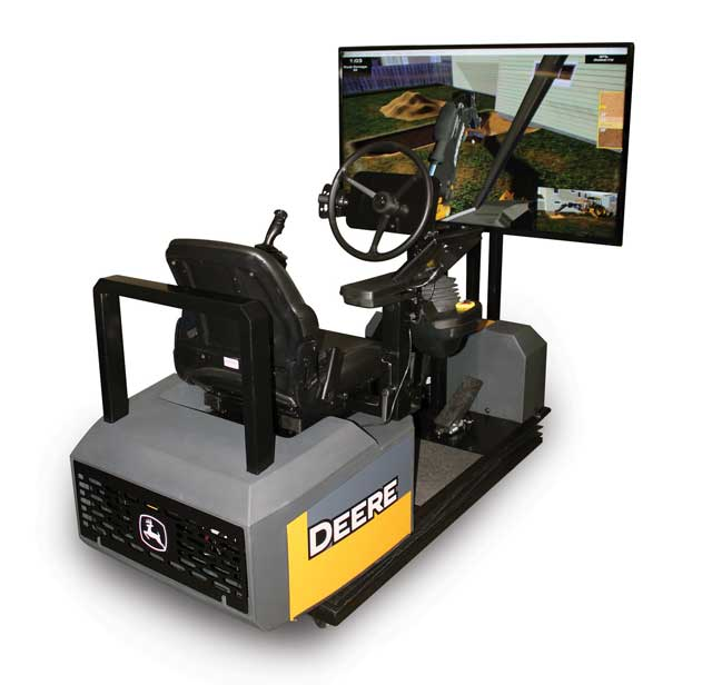 John Deere Backhoe Simulator