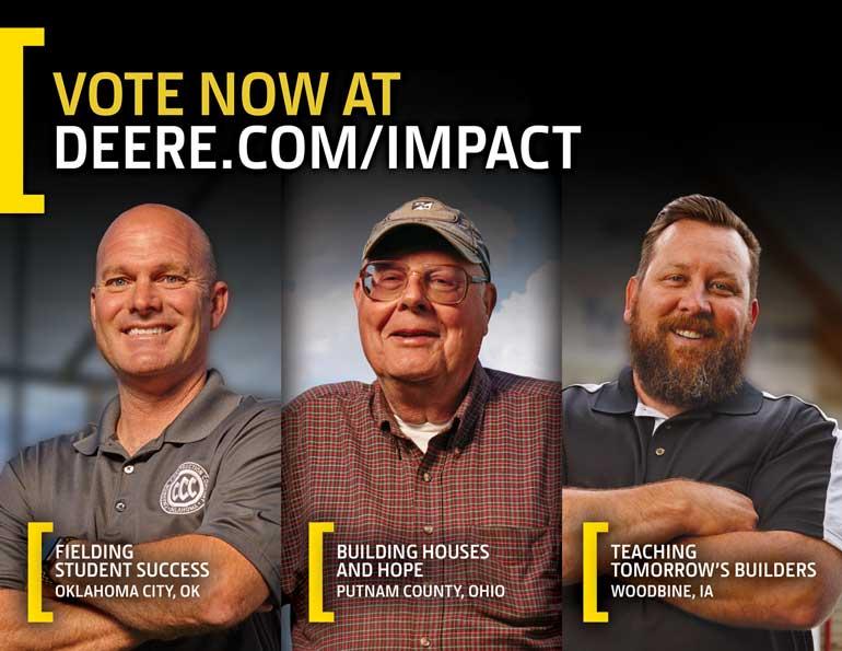 John Deere contest finalists