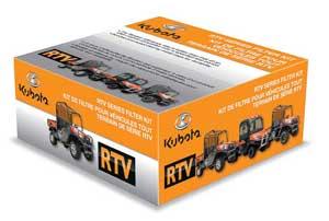Kubota RTV Series Filter Kit