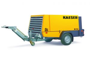 Special Pricing for Kaeser's M114 Mobilair Portable Compressors Now Available