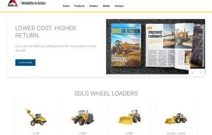 SDLG Launches New Website with a Focus on Mobility