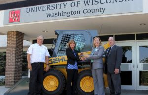 Manitou Americas Donates Skid Loaders to Local County Organizations