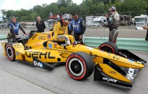 Gehl Was Primary Sponsor of Graham Rahal's Entry at the Iowa Corn 300 IndyCar Series Race