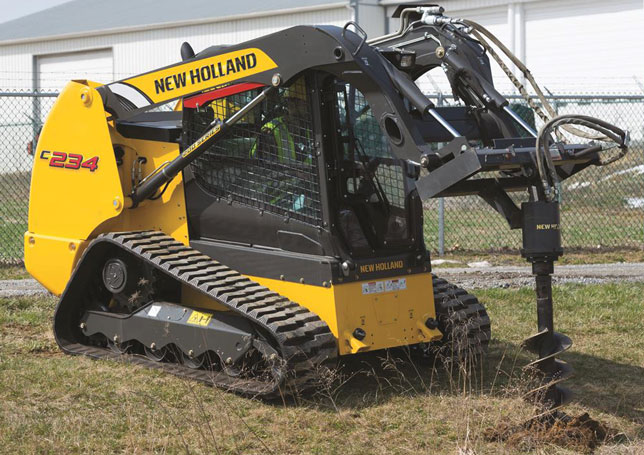 New Holland Track Loader