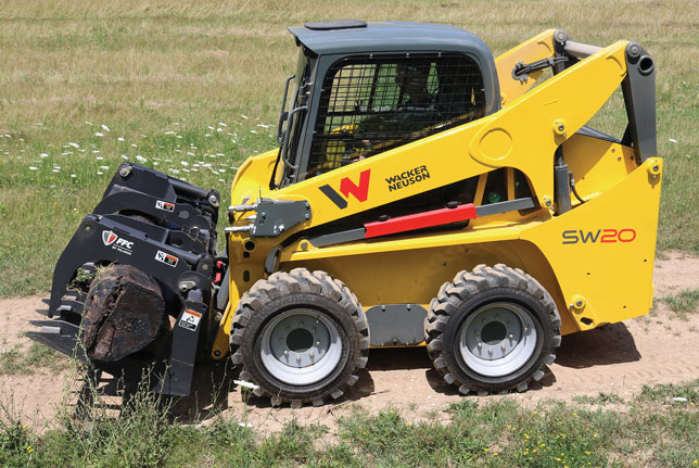Wacker Neuson skid steer