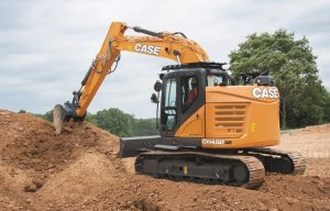 Case Expands D Series with CX145D SR Minimum-Swing Excavator