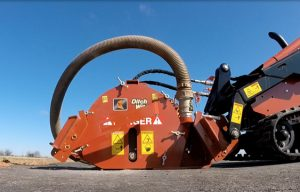 Cutting Edge: Ditch Witch MT9 Microtrencher Attachment for Compact Tool Carriers