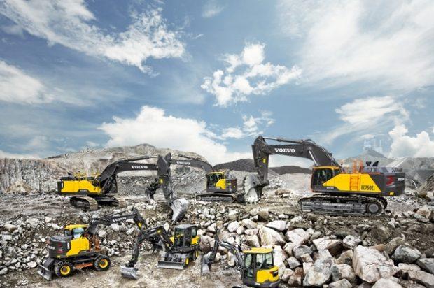 Dig This History of Volvo's Evolving Excavator Range