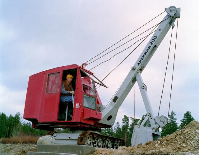 Volvo old excavator