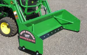 Worksaver Releases Snow Pushers for Sub-Compact Tractors